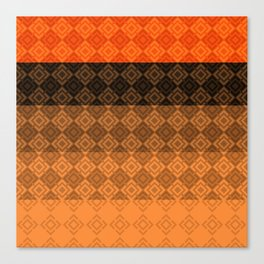 4 Abstract geometric pattern Canvas Print