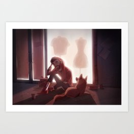 Best Companion Art Print