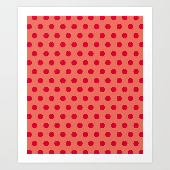 Dots collection  Art Print