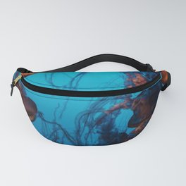 Jellyfish in the Ocean Fanny Pack