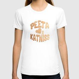 Peeta Loafs Katniss T-shirt