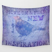 motivation Wall Tapestries featuring Motivation by LebensART