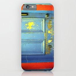 Primary Colors Door iPhone Case