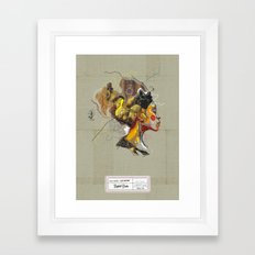 Erykah Badu - Soul Sister | Soul Brother Framed Art Print