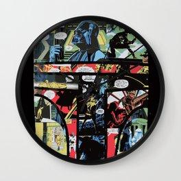 Boba Fett Collage Wall Clock