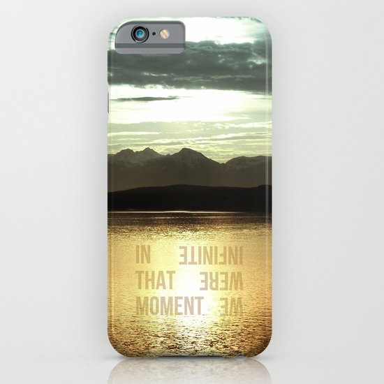 In that Moment, We were Infinite iPhone & iPod Case