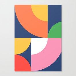 Abstract Geometric 17 Canvas Print