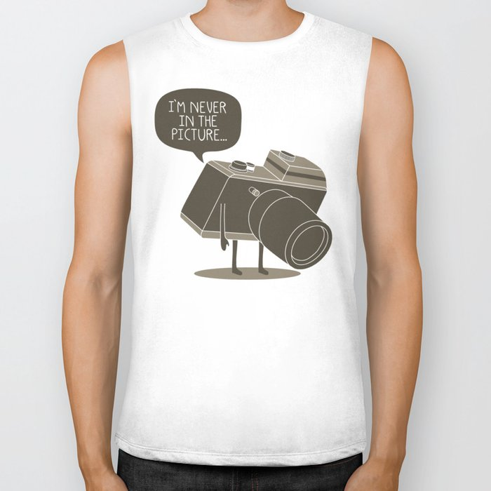 Never in the picture... Biker Tank