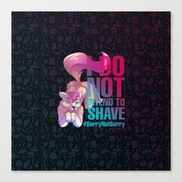 SheWolf - Drawlloween2018 Canvas Print