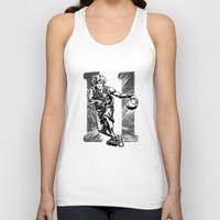 basketball Tank Tops featuring Basketball by Alea Lefevre