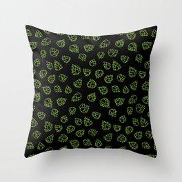 Hopcone Pattern Throw Pillow