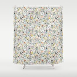 Ghibli Love Shower Curtain