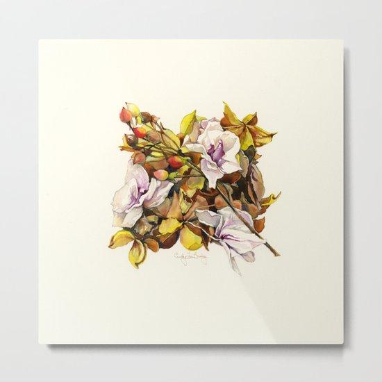 Fallen Petals Metal Print