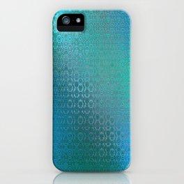 Trinity Pattern (ocean blues) iPhone Case