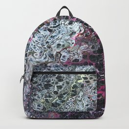 Acrylic pour 2 Backpack