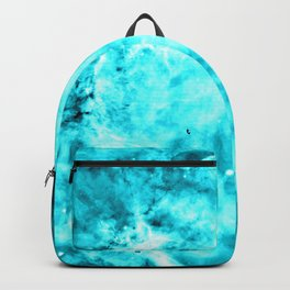 Turquoise Blue Carina Nebula Backpack