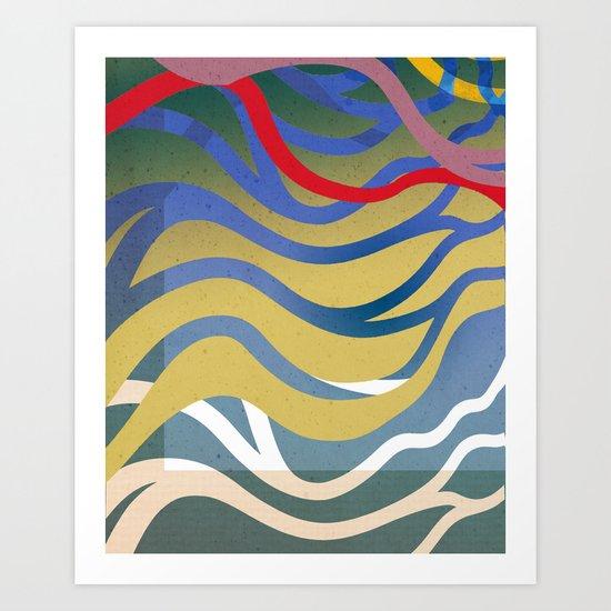 Wasser Art Print