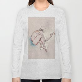 Have nots, depressed female figure, NYC artist Long Sleeve T-shirt