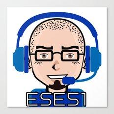 Ese51 Gaming Canvas Print
