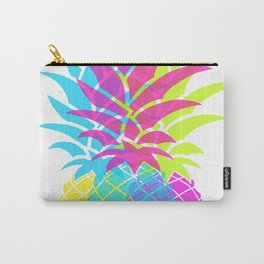 Hot Pink Pineapple Carry-All Pouch