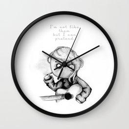 Kurt Plush Wall Clock