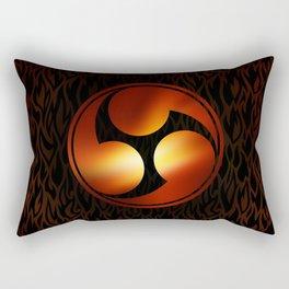 Mitsu tomoe Rectangular Pillow