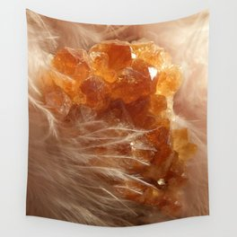 Soft Citrine Wall Tapestry