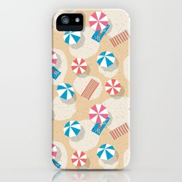 Chilling at the Beach iPhone Case