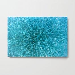 Baikal ice texture Metal Print