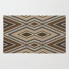 Geometric Rustic Glamour Rug