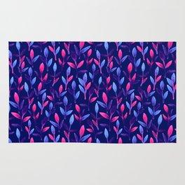 Pink & violet Simple cute floral Rug