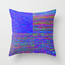 Re-Created Flag V by Robert S. Lee Throw Pillow