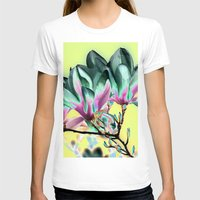 popart T-shirts featuring MAGNOLIA - PopArt by CAPTAINSILVA