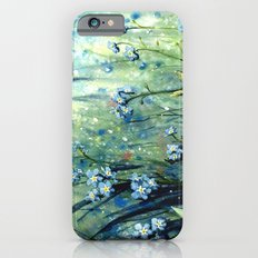 Forget me not flowers Slim Case iPhone 6s