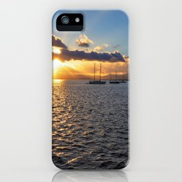 Sunset at Arrecife iPhone Case