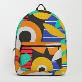 Tropical summer bouquet Backpack