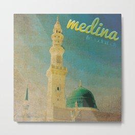 Medina Metal Print