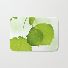 Aspen leaves Bath Mat