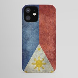Philippines Grungy flag iPhone Case