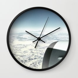 Travel Above Earth Wall Clock