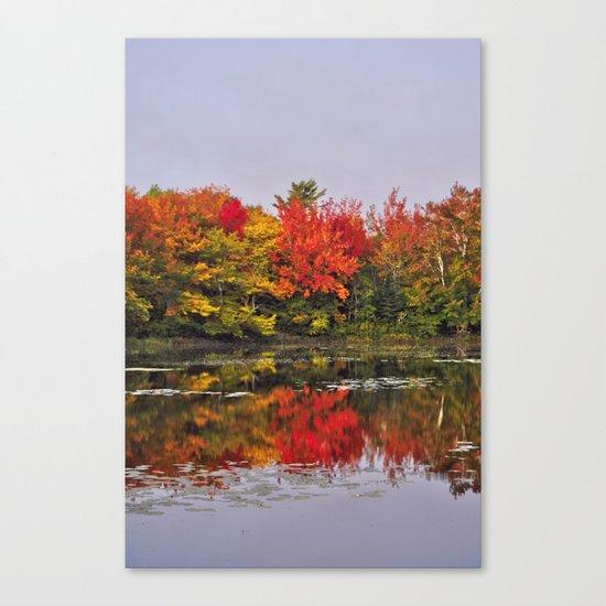 Autumn Portrait Canvas Print