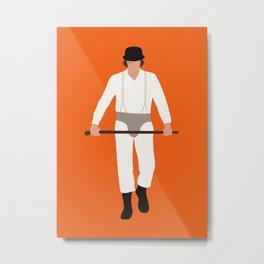 Alex DeLarge Orange movie 70s Metal Print