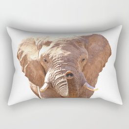 Elephant illustration Rectangular Pillow