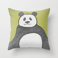 Panda Mountain Throw Pillow