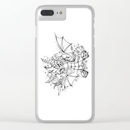 Spyro & Sparx - Ultimate Duo! Clear iPhone Case