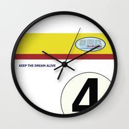 SRC Preparations 934 No.4 Laus Wall Clock