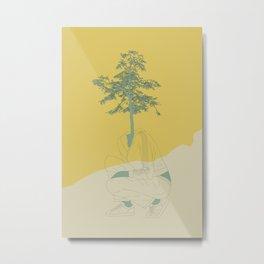 Woman Nature 2 Metal Print