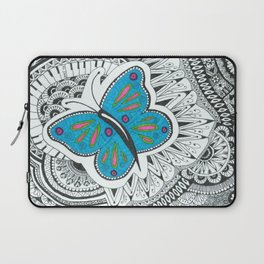 Butterfly-tangle Laptop Sleeve