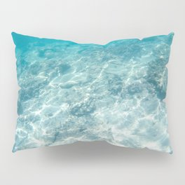 Under the aqua sea Pillow Sham