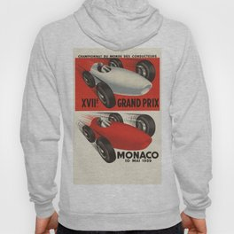 Vintage Monaco Grand Prix Poster - Circa 1959 Hoody